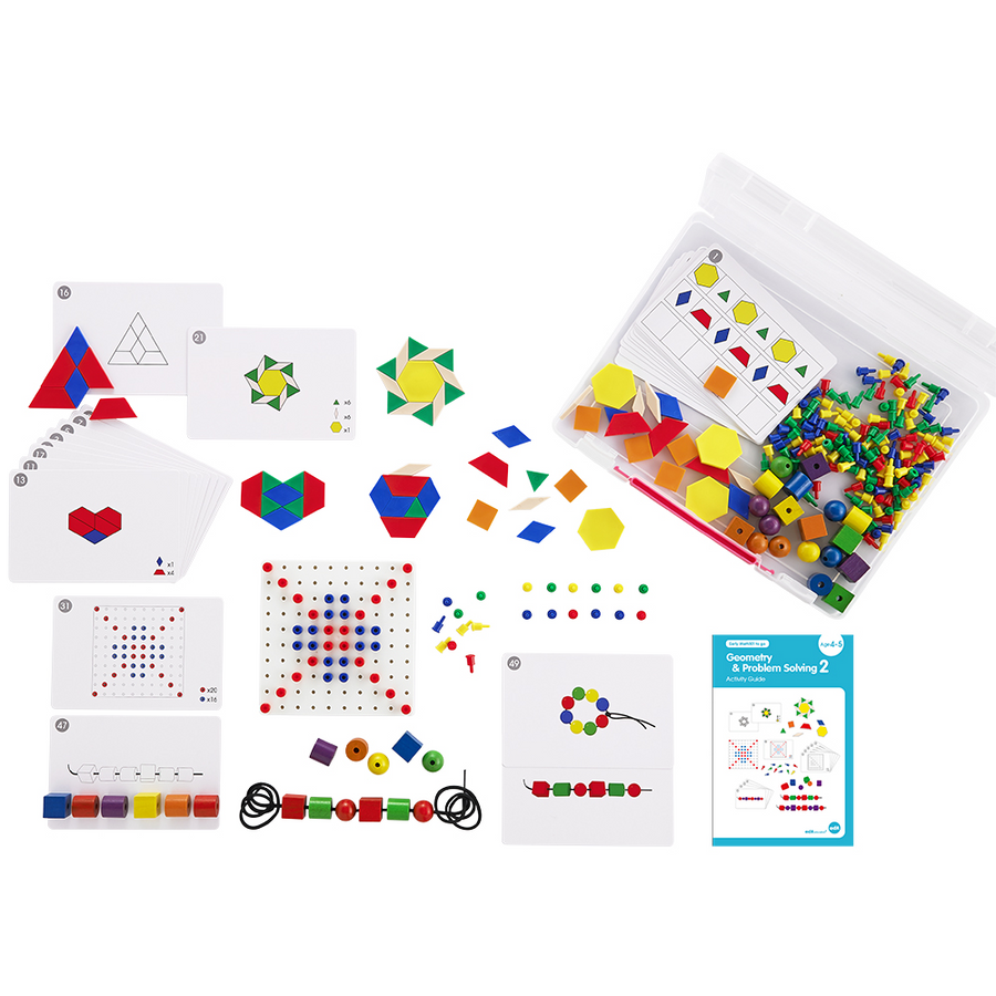 Edx Early Math 101 - Geometry and Problem Solving Set (Level 2)