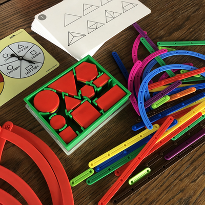 Early Math 101 - Geometry and Problem Solving Set (Level 3) Edx Education by Tickle Your Senses