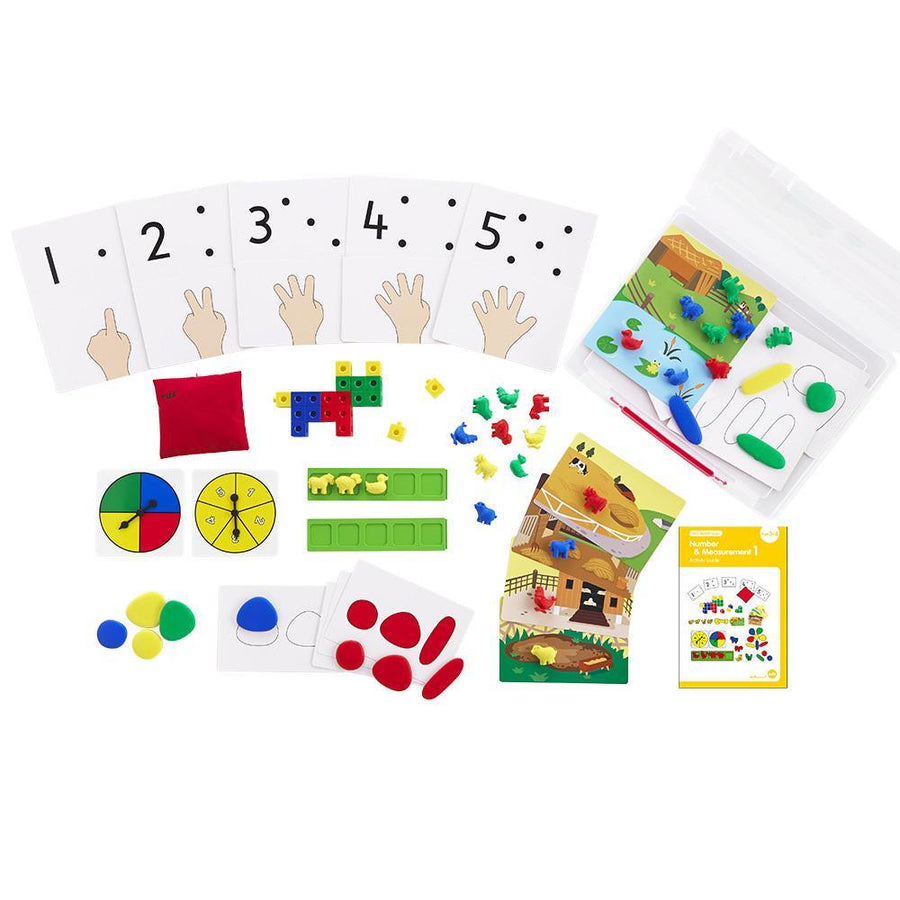 Early Math 101 - Number and Measurement Set (Level 1) Edx Education by Tickle Your Senses