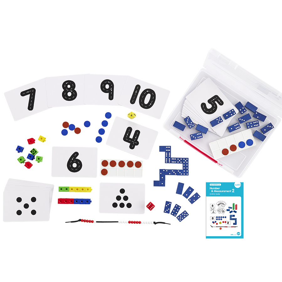Early Math 101 - Number and Measurement Set (Level 2) Edx Education by Tickle Your Senses