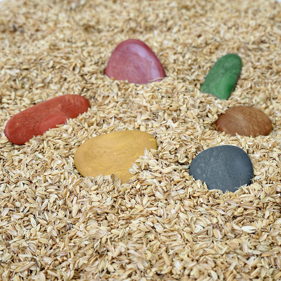 Eco-Friendly FPC Rainbow Pebbles Activity Set Edx Education by Tickle Your Senses