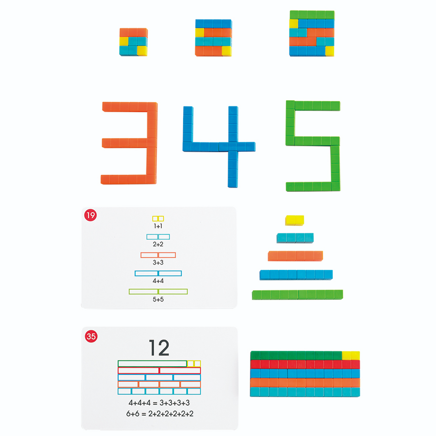 Early Math 101 - Number Rods (Deluxe) Edx Education by Tickle Your Senses