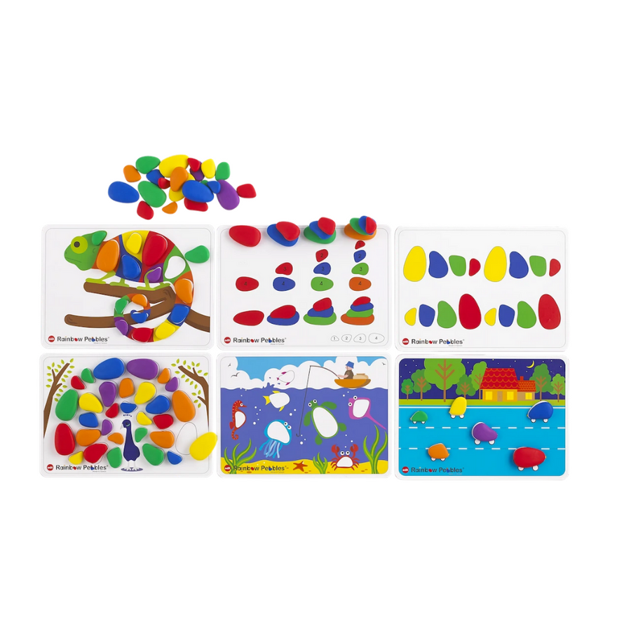 Signature Rainbow Pebbles Activity Set Edx Education by Tickle Your Senses