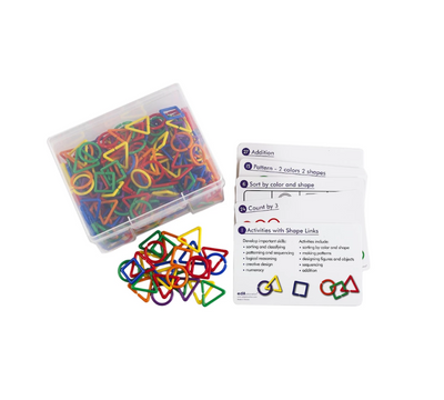 Tickle Your Senses Edx Shapes Links Activity Set
