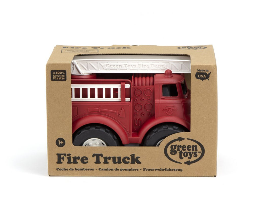 Green Toys™ Fire Truck | Made from 100% recycled plastic | The Elly Store