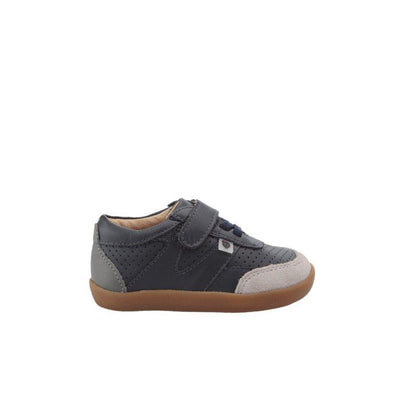 Old Soles Fitz Shoe Navy / Grey Suede | Kids Shoes | The Elly Store