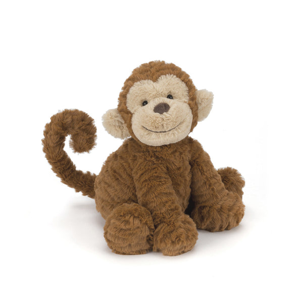 Jellycat Animals Fuddlewuddle Monkey wih cheeky smile | Buy Jellycat Kids Baby Soft Toys at The Elly Store Singapore