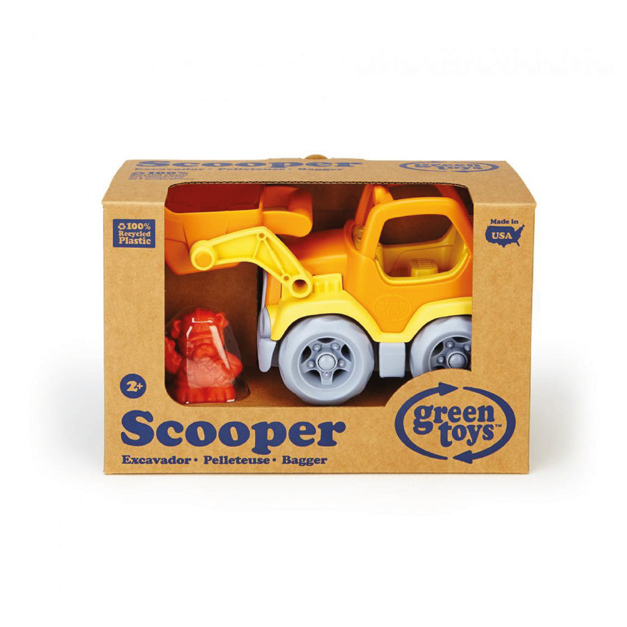 Green Toys™ Scooper Construction Truck, 100% recycled plastic, The Elly Store