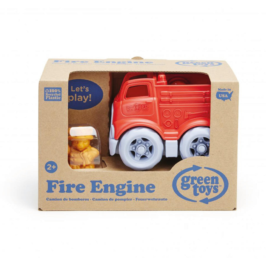 Green Toys™ Fire Engine | Made from 100% recycled plastic | The Elly Store