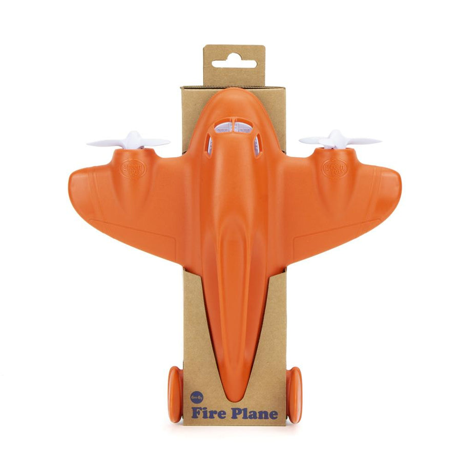 Green Toys Fire Plane | Made from 100% recycled materials