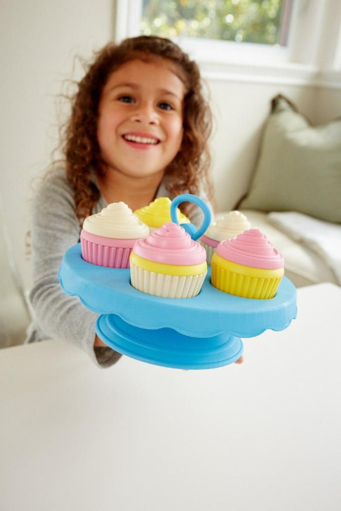 Green Toys Cupcakes Set | Made with 100% recycled materials