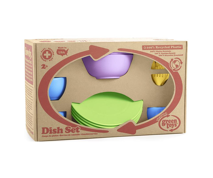 Green Toys Dish Set | Made with 100% recycled material