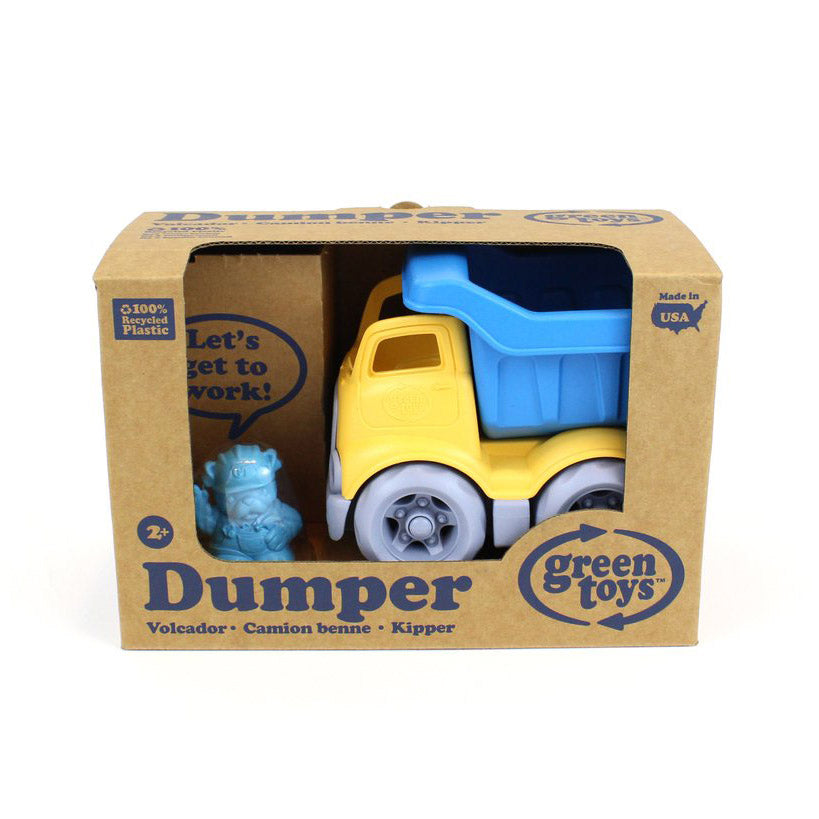 Dumper Construction Truck -  Blue / Yellow