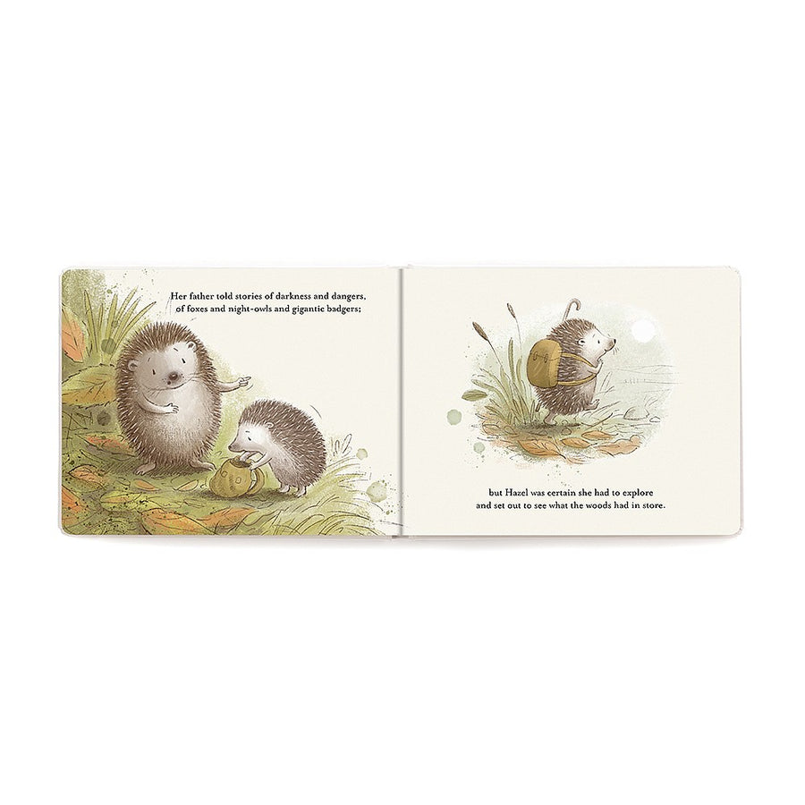 Jellycat Hedgehog's Big Adventure Book | The Elly Store