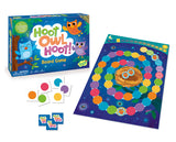 peaceable kingdom hoot owl hoot board card game colourful pieces sun cards