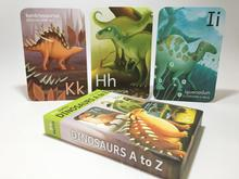 Dinosaur A to Z Flash Cards