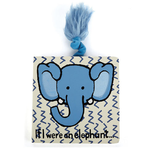 Jellycat 'If I Were an Elephant' Board Book Cover | Buy Jellycat Books online for toddlers early readers at The Elly Store Singapore