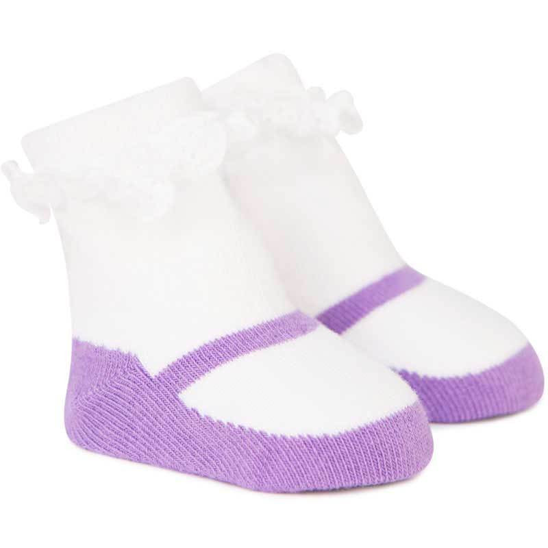 Trumpette Jitterbug Jenny Baby Socks for Girls | Buy Baby Clothes online at The Elly Store