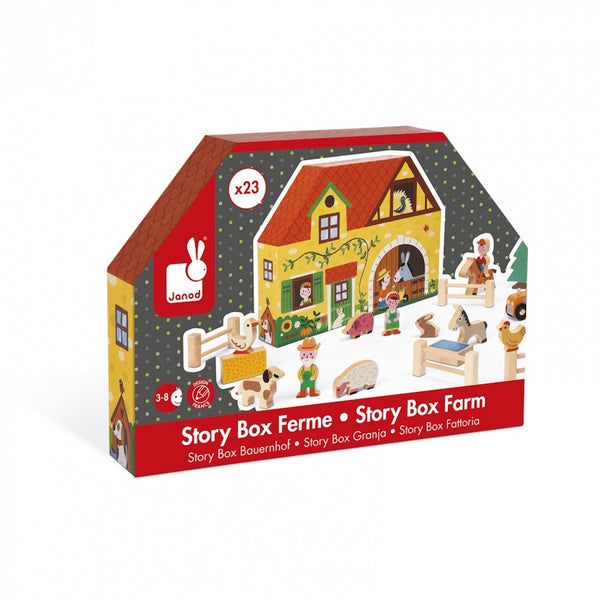 Janod - Story Box Farm Kids Toys Singapore