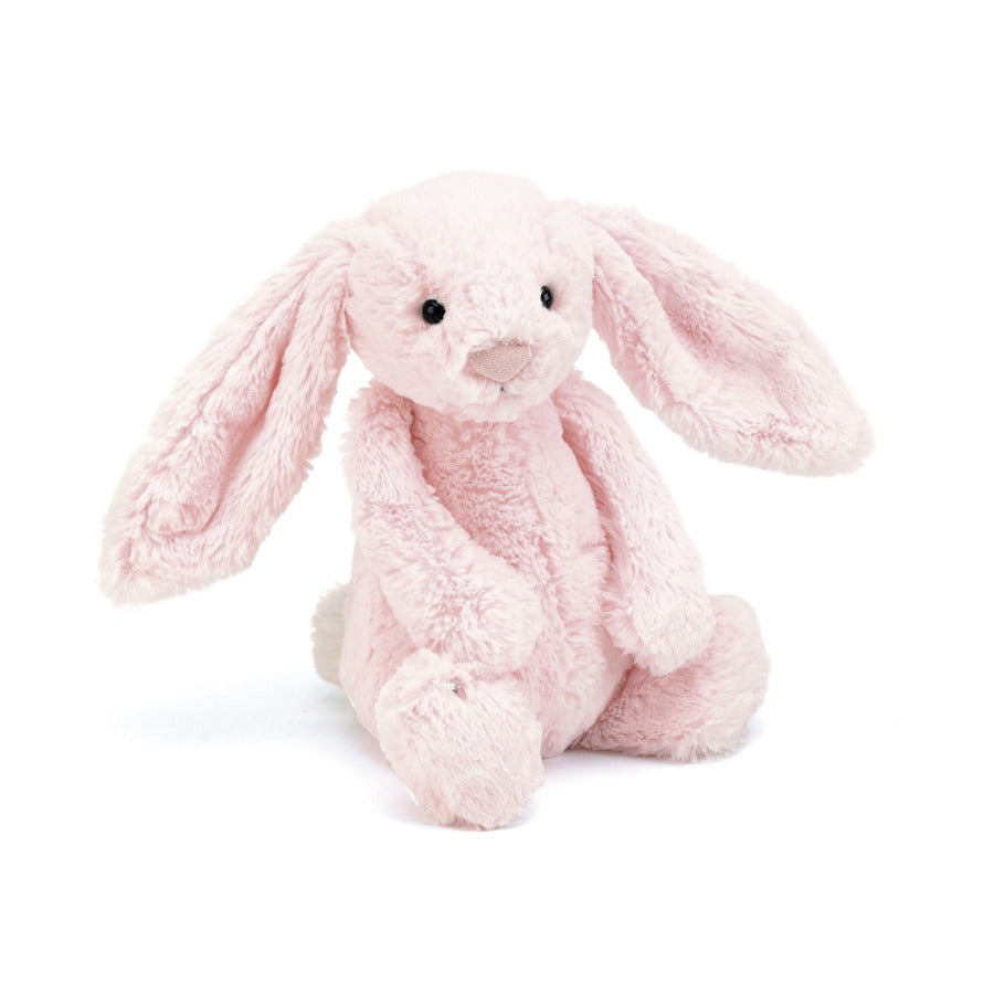 Jellycat Bashful Bunny in Baby Pink Medium | Buy Jellycat Singapore Kids Baby Soft Toys at The Elly Store