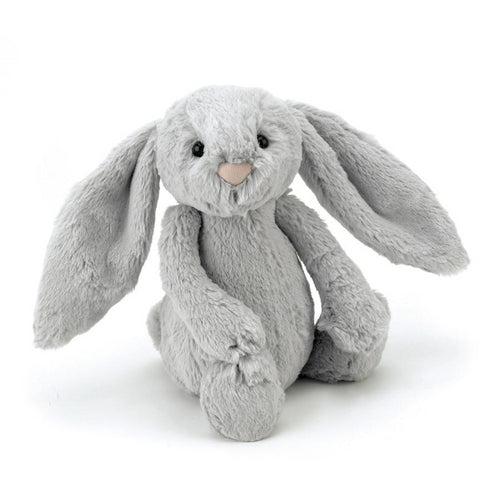 Jellycat Bashful Bunny in Silver | Buy Jellycat Singapore Kids Baby Soft Toys at The Elly Store