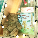 Jellycat Bartholomew Bear with 'Where's my teddy' matching Jellycat Book | Buy jellycat Singapore Kids Baby Soft Toys at the Elly Store