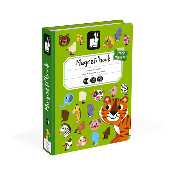janod magneti' book animals cover