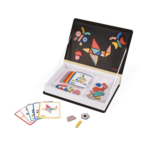 janod magneti' book moduloform colourful magnet pieces