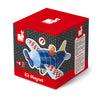 janod magnetic airplane wooden toy box