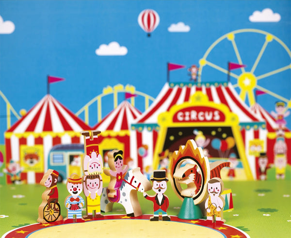janod mini story circus set