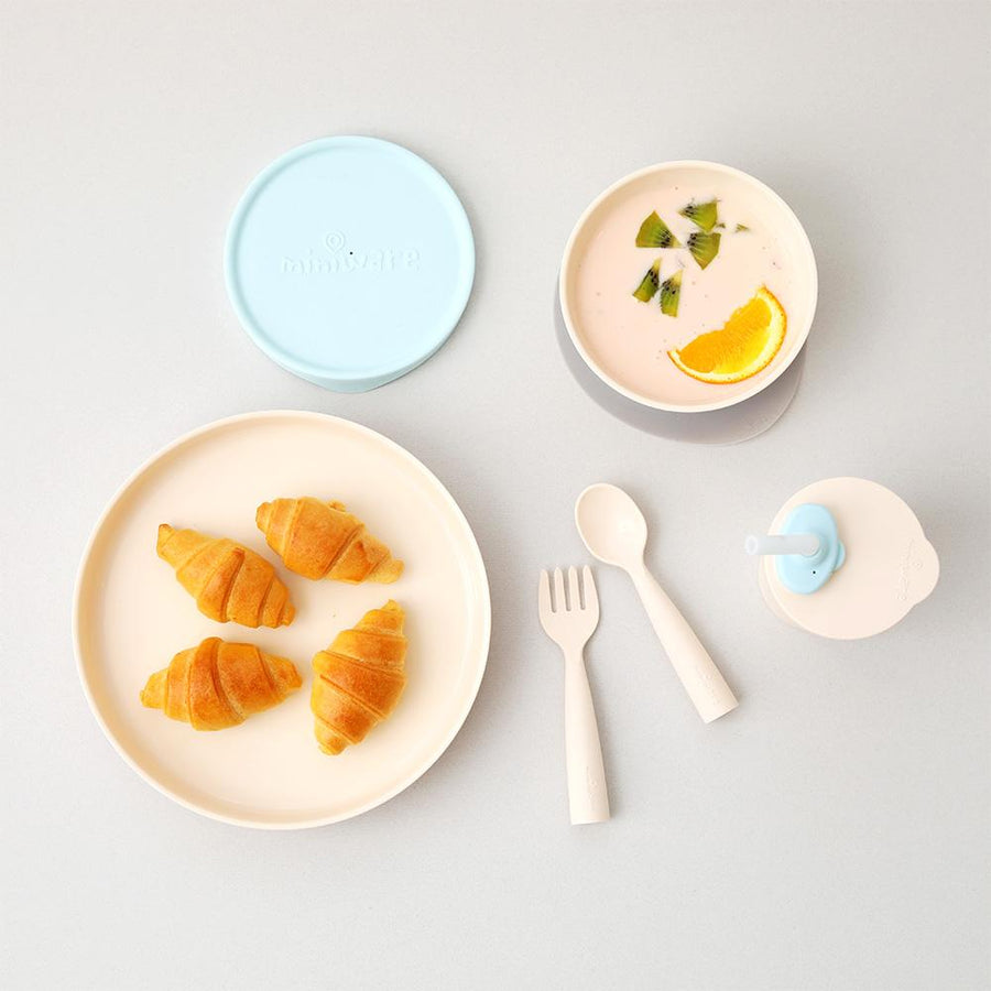 Miniware Little Foodie Set - Aqua | The Elly Store