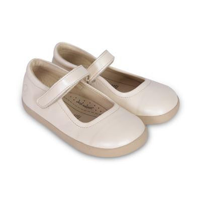 Miss Jane formal shoes by Old Soles in Pearl Metallic | Buy Kids Shoes online at The Elly Store Singapore