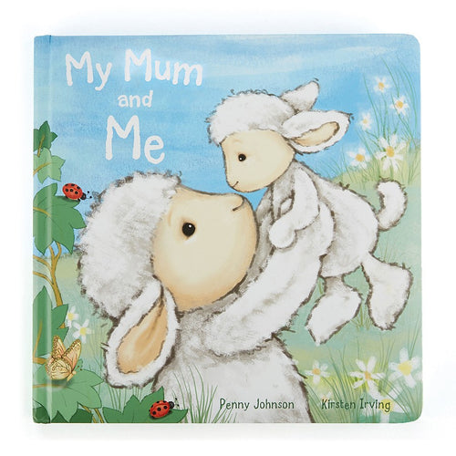 Jellycat 'My Mum and me' Book Cover | Buy Jellycat Books online for Early Reader at The Elly Store Singapore