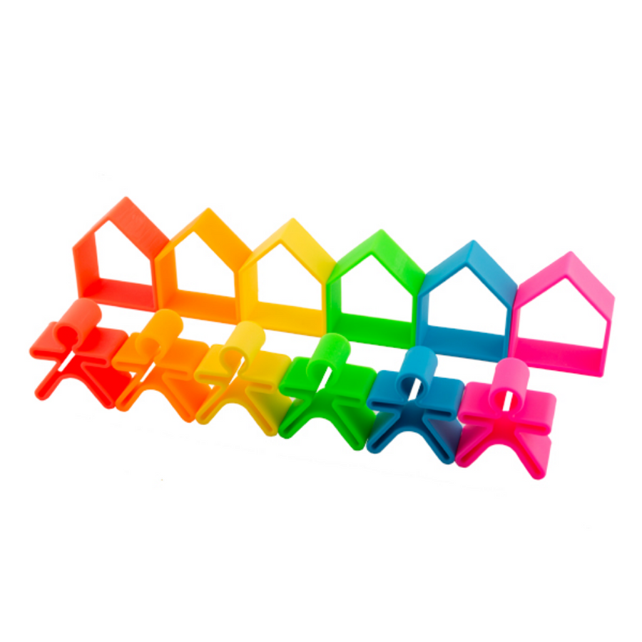 Neon 12-pc House and Kid Set