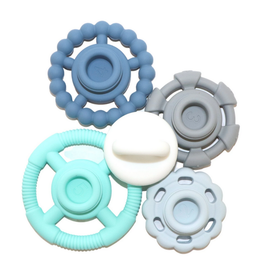 Ocean Stacker and Teether Toy Jellystone Designs