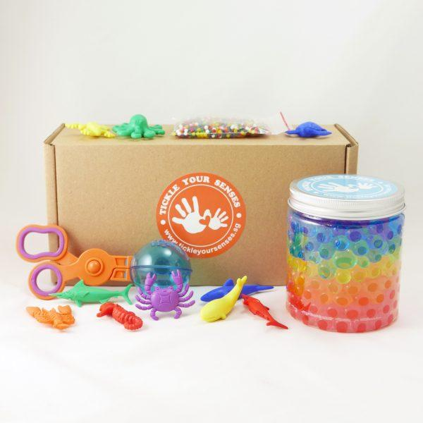 Rainbow Sea Creatures Waterbeads Kit Tickle Your Senses