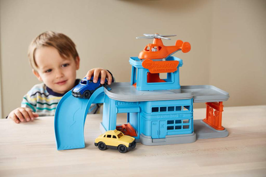 Green Toys™ Parking Garage | 100% recycled plastic | The Elly Store