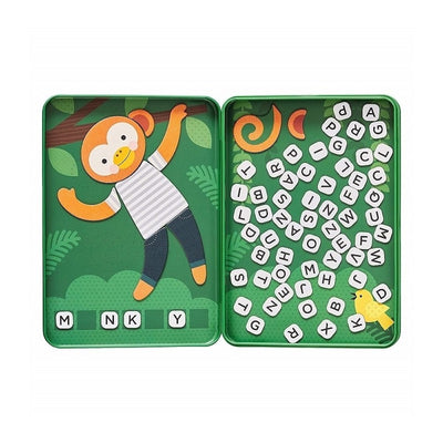 Petit Collage Magnetic Travel Game - Hang On Monkey