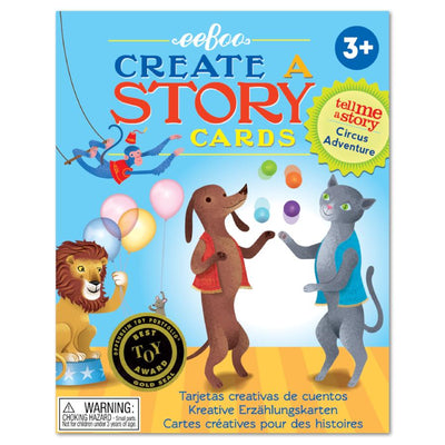 eeBoo - Circus Adventure Create a Story Cards Singapore