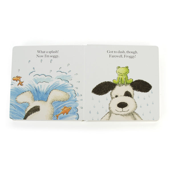 Jellycat 'Puppy Makes Mischief' Book Preview | Buy Jellycat Books online for early reader at The Elly Store Singapore