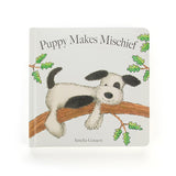 Jellycat 'Puppy Makes Mischief' Book Cover | Buy Jellycat Books online for early readers at The Elly Store Singapore