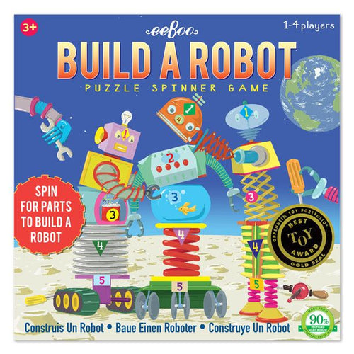 eeBoo - Build a Robot Spinner Game Singapore