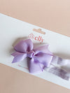 Pinwheel Bow Headband Lilac Purple | Hair Accessories | The Elly Store