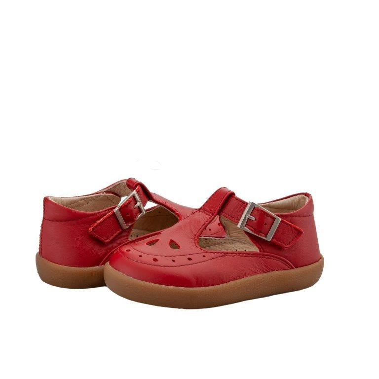 Old Soles Royal Shoe Red   Kids Shoes