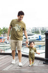 Adult Army Turtle Tee | Family Twinning | The Elly Store