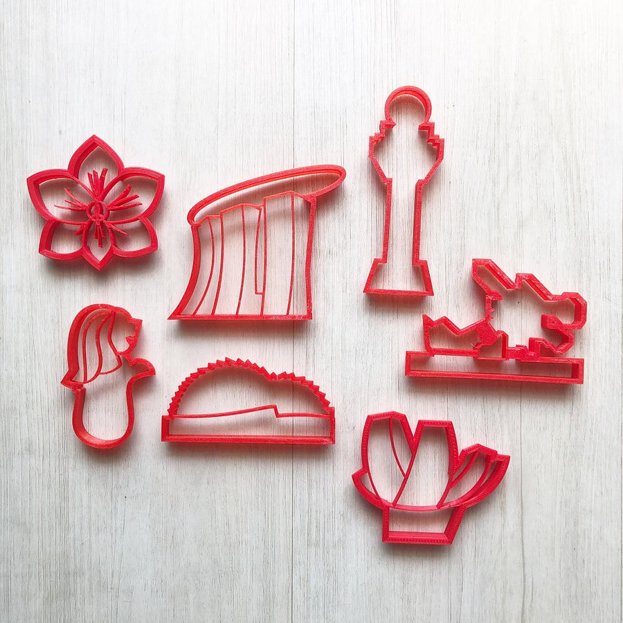Singapore Heritage Playdough Cutters (I)
