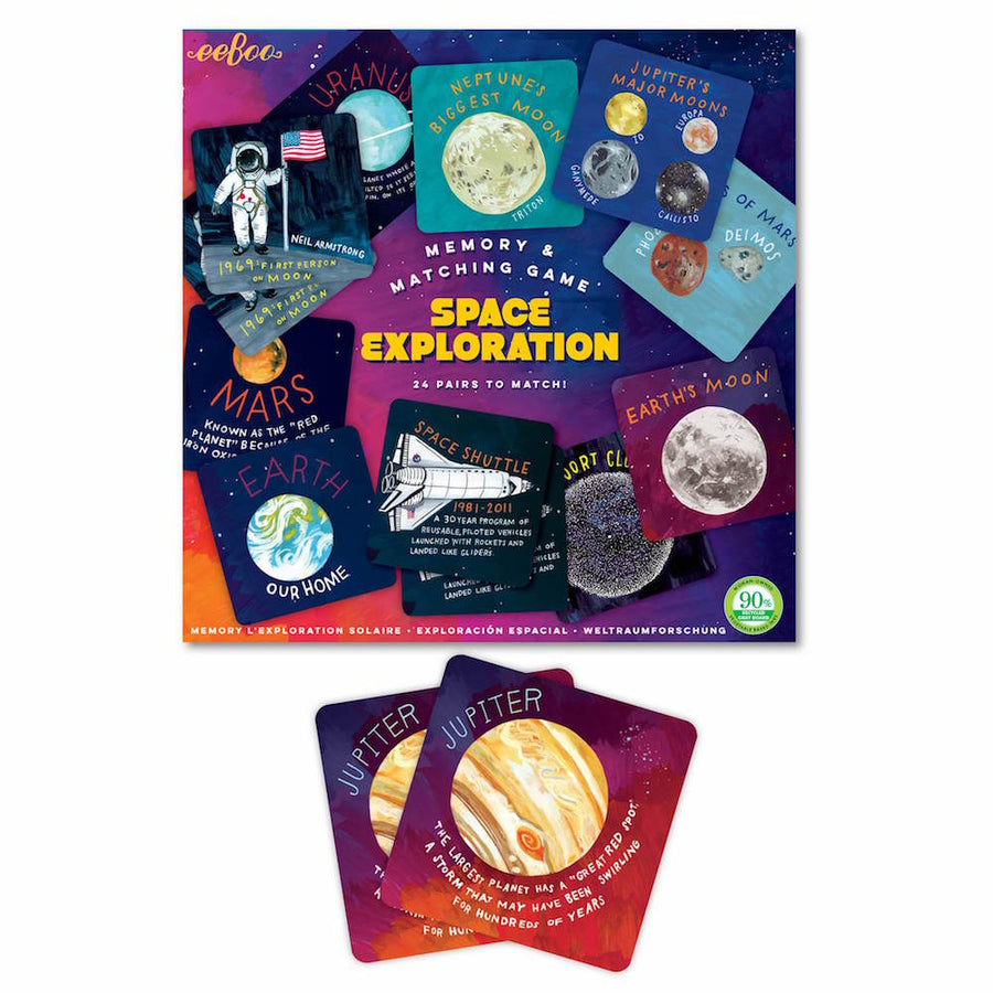 Space Exploration Memory Game eeBoo