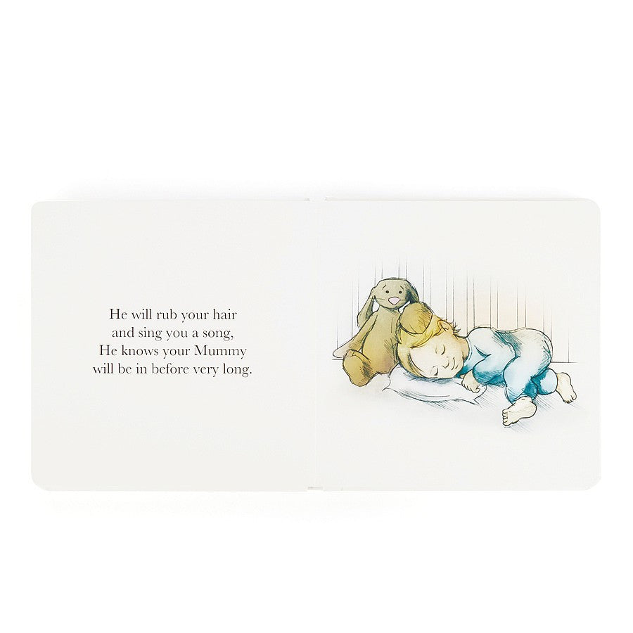 Jellycat 'The Magic Bunny' Book Cover | Buy Jellycat Books online for early readers at The Elly Store Singapore