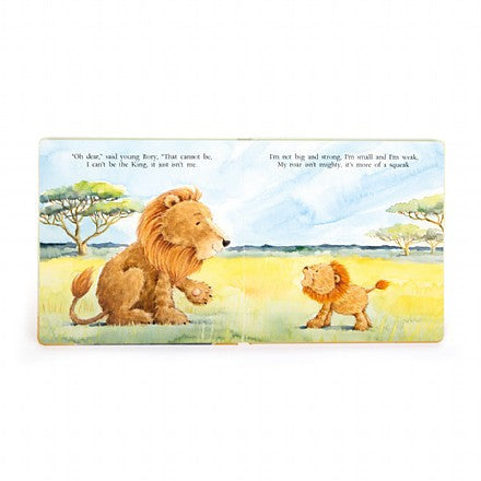 Jellycat 'The Very Brave Lion' Book Preview | Buy Jellycat Books online for early reader at The Elly Store Singapore