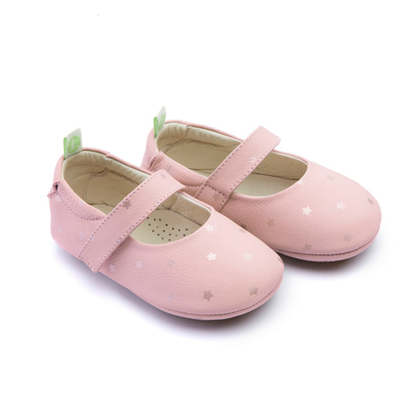 Tip Toey Joey Dolly Cotton Candy Starry Gold Baby Shoes